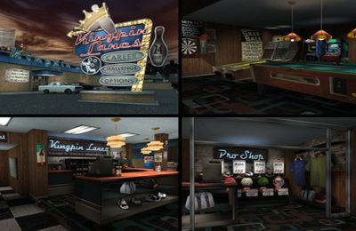 Capturas de pantalla del juego Kingpin Lanes para iPhone, iPad o iPod.