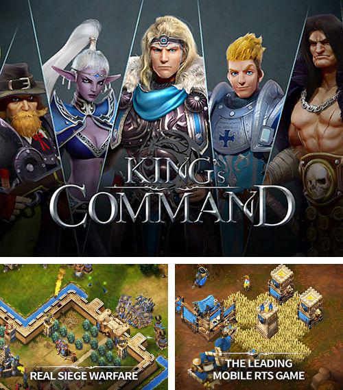 In addition to the game Metal Wars 3 for iPhone, iPad or iPod, you can also download King's command for free.