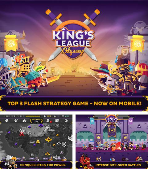 In addition to the game Falling cube: Saga for iPhone, iPad or iPod, you can also download King's League: Odyssey for free.