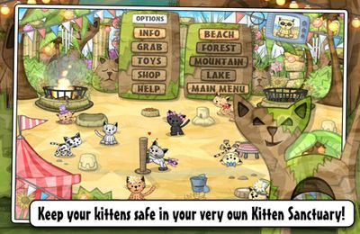 Capturas de pantalla del juego Kitten Sanctuary para iPhone, iPad o iPod.