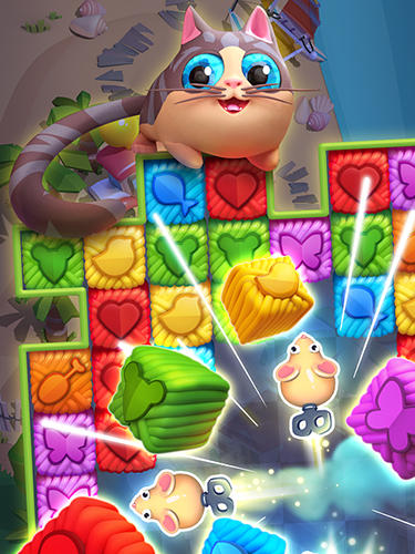 Capturas de pantalla del juego Kitty journey para iPhone, iPad o iPod.