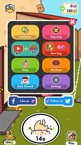 Screenshots of the Kleptodogs game for iPhone, iPad or iPod.