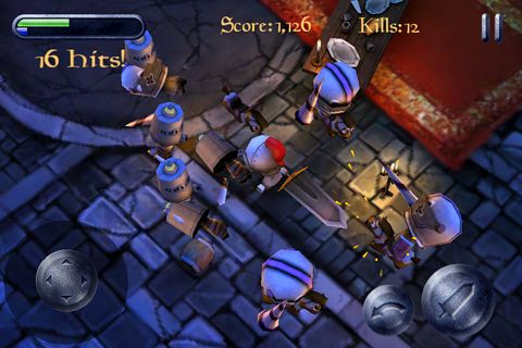 Screenshots of the Knight blitz: OMG game for iPhone, iPad or iPod.