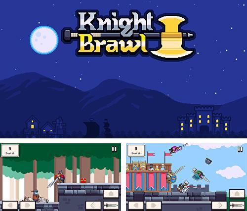 In addition to the game Ninboo: Galaxy runner for iPhone, iPad or iPod, you can also download Knight brawl for free.