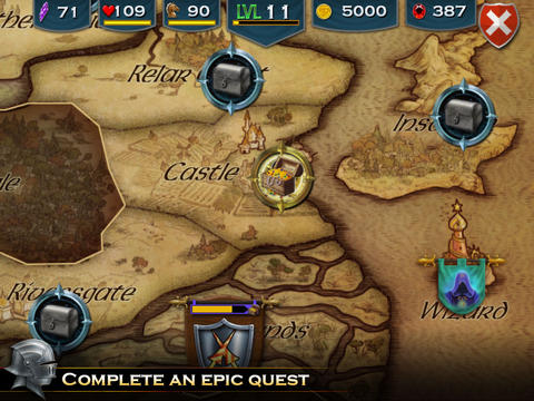 Download Knight Storm iPhone free game.