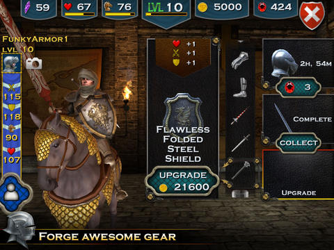 Free Knight Storm download for iPhone, iPad and iPod.