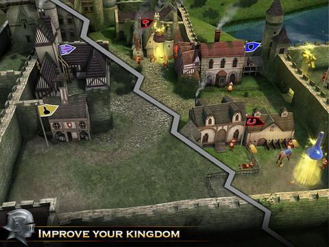 Screenshots of the Knight Storm game for iPhone, iPad or iPod.