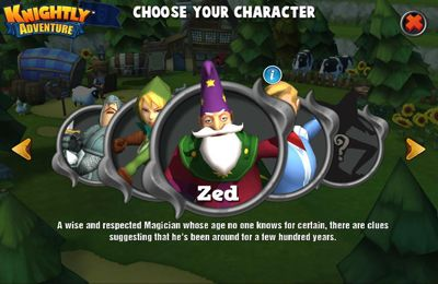 Download Knightly Adventure iPhone free game.