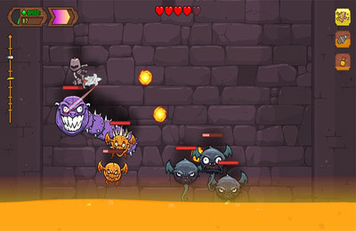 Écrans du jeu Knightmare Tower pour iPhone, iPad ou iPod.