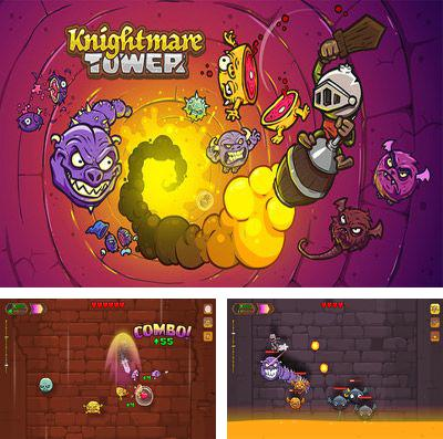 In addition to the game Toy bot diaries 2 for iPhone, iPad or iPod, you can also download Knightmare Tower for free.