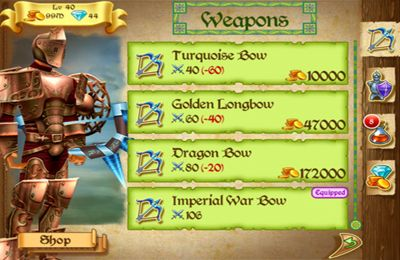 Descarga gratuita de Knights Arena para iPhone, iPad y iPod.