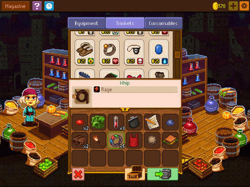 Гра Knights of pen and paper 2 для iPhone