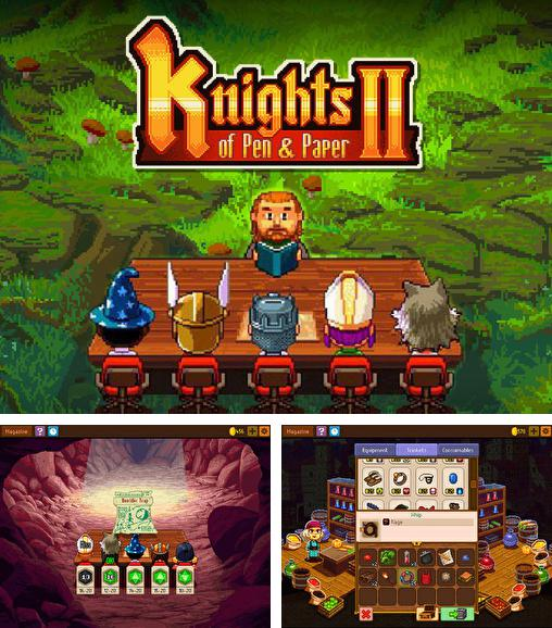 In addition to the game Puzzle Craft for iPhone, iPad or iPod, you can also download Knights of pen and paper 2 for free.