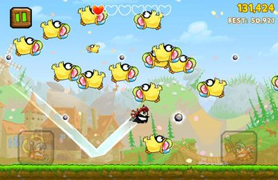 Capturas de pantalla del juego Knights of the Round Cable para iPhone, iPad o iPod.