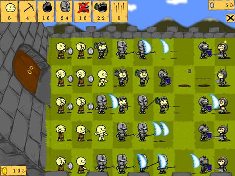 Download Knights vs. knights iPhone free game.
