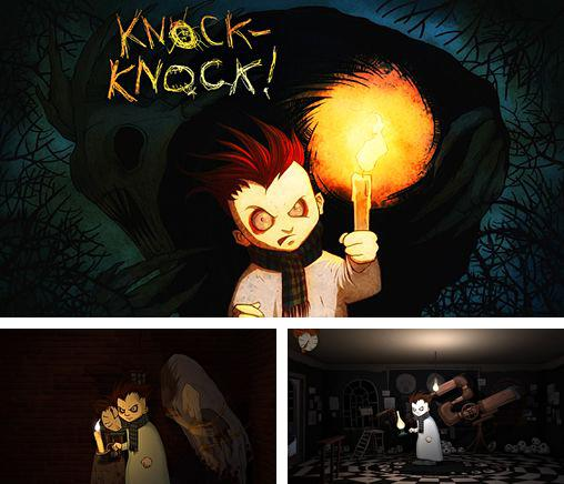 In addition to the game Zombies race plants for iPhone, iPad or iPod, you can also download Knock-knock for free.