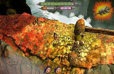 Capturas de pantalla del juego Blood and glory: Immortals para iPhone, iPad o iPod.