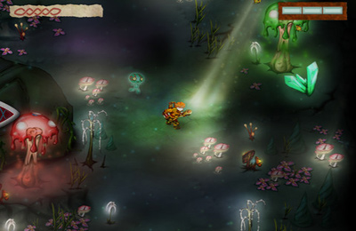 Screenshots vom Spiel Ku: Shroud of the Morrigan für iPhone, iPad oder iPod.