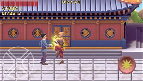 Download Kung fu monk: Director's cut iPhone free game.