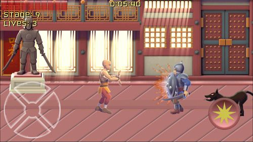 Screenshots of the Kung fu monk: Director's cut game for iPhone, iPad or iPod.