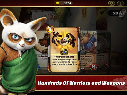 Écrans du jeu Kung Fu panda: Battle of destiny pour iPhone, iPad ou iPod.