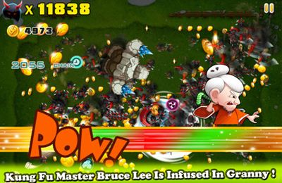 Descarga gratuita de Kung Pow Granny para iPhone, iPad y iPod.