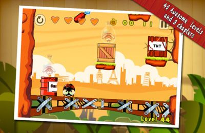 Download KungFu Bugs iPhone free game.