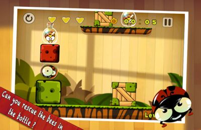 Capturas de pantalla del juego KungFu Bugs para iPhone, iPad o iPod.