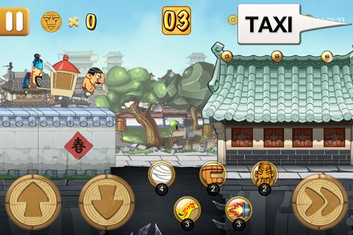 Screenshots do jogo Kungfu taxi para iPhone, iPad ou iPod.