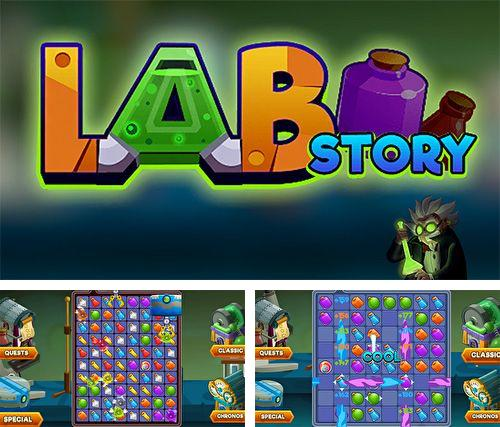 In addition to the game The spatials for iPhone, iPad or iPod, you can also download Lab story: Classic match 3 for free.