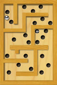 Capturas de pantalla del juego Labyrinth para iPhone, iPad o iPod.