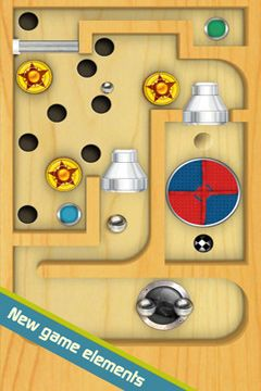 Capturas de pantalla del juego Labyrinth 2 para iPhone, iPad o iPod.