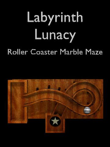 Labyrinth lunacy: Roller coaster marble maze iPhone game - free