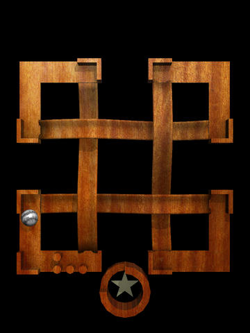 Screenshots of the Labyrinth lunacy: Roller coaster marble maze game for iPhone, iPad or iPod.