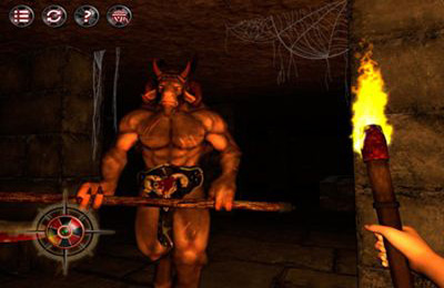 Screenshots vom Spiel Labyrinth of the Minotaur: Escape from Darkness für iPhone, iPad oder iPod.