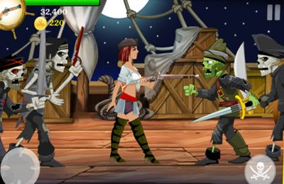 Download Lady Pirate iPhone free game.