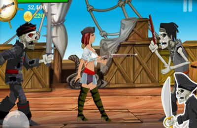 Descarga gratuita de Lady Pirate para iPhone, iPad y iPod.