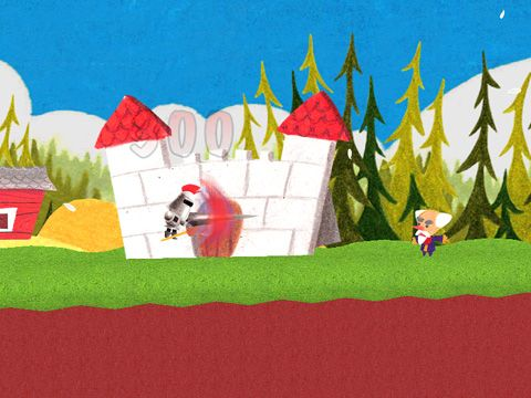 Screenshots of the Lame castle game for iPhone, iPad or iPod.