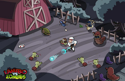 Download Lamebo vs Zombies iPhone free game.