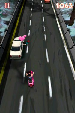 Screenshots vom Spiel Race After 1977 für iPhone, iPad oder iPod.