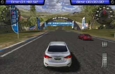 Capturas de pantalla del juego Langdong Racing para iPhone, iPad o iPod.