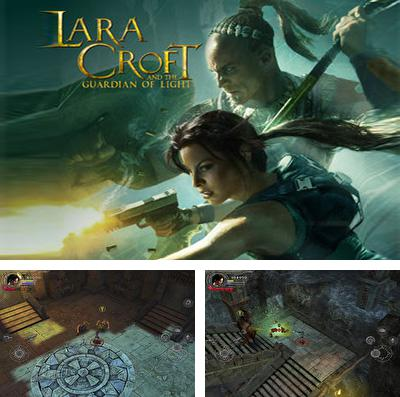 Además del juego Carrera: Carrera diabólica  para iPhone, iPad o iPod, también puedes descargarte gratis Lara Croft and the Guardian of Light.