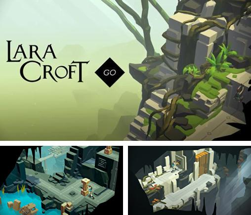 In addition to the game Sponge Bob: Bubble party for iPhone, iPad or iPod, you can also download Lara Croft go for free.