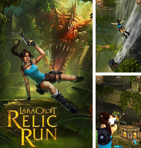 In addition to the game Angry Birds Star Wars for iPhone, iPad or iPod, you can also download Lara Croft: Relic run for free.