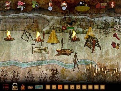 Screenshots do jogo Lascaux: The journey para iPhone, iPad ou iPod.