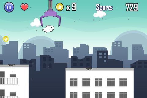 Screenshots of the Last bunny game for iPhone, iPad or iPod.