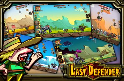 Screenshots of the Last Defender game for iPhone, iPad or iPod.