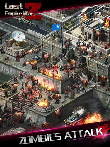 iPhone、iPad 或 iPod 版Last empire: War Z游戏截图。