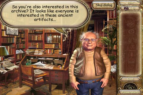 Screenshots do jogo Laura Jones and the Gates of Good and Evil para iPhone, iPad ou iPod.