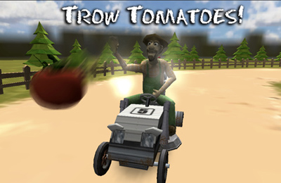 Screenshots of the Lawn Mower Madness game for iPhone, iPad or iPod.